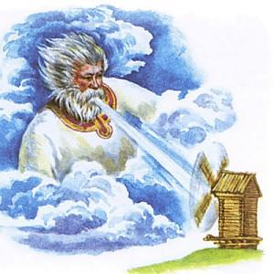 Стрибог - славянский бог Ветра